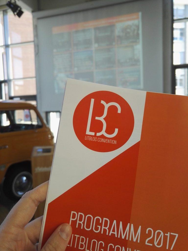 Angekommen bei der Litblog Convention in Köln.