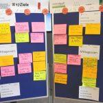 Und er ist fertig: Der Sessionplan Literaturcamp Bonn 2018.