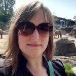 Selfie mit Elefanten im Kölner Zoo.