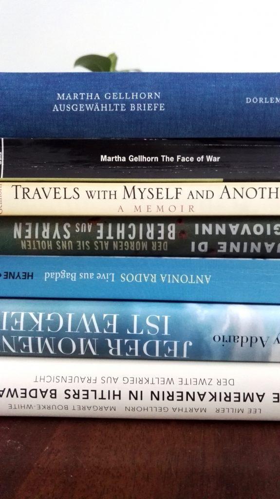 Bücher von Kriegsreporterinnen