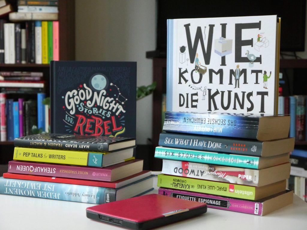 Top 14 gelesene Bücher im Jahr 2018
