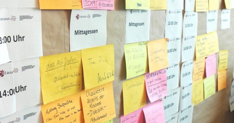Das LiteraturCamp Bonn 2019
