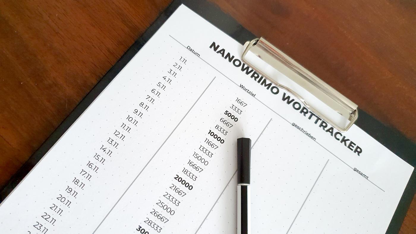 Nanowrimo 2019 (inkl. Freebie)