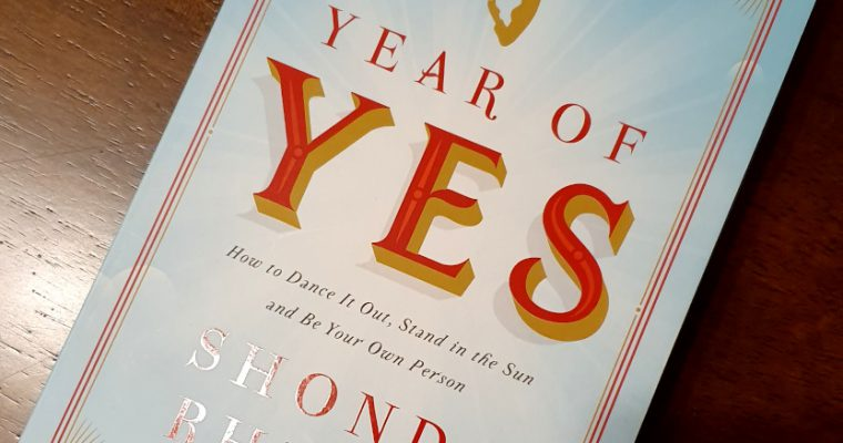 Shonda Rhimes, Year of Yes