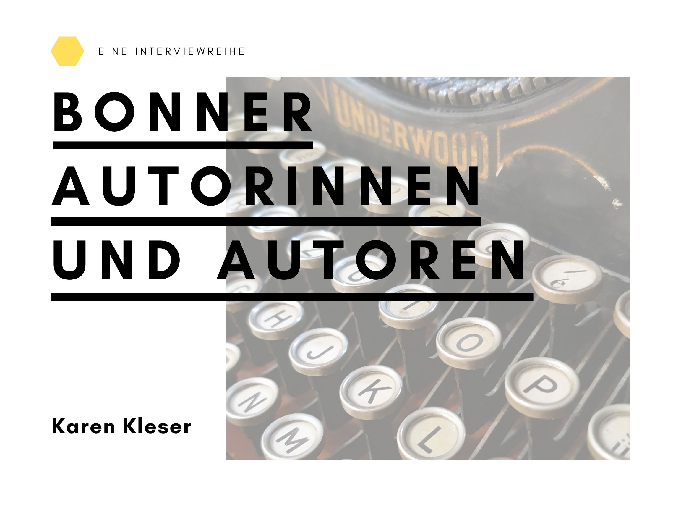 Interview mit Karen Kleser