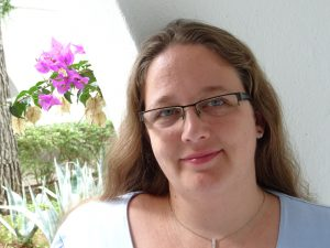 Die Bonner Autorin Stephanie Braun. Foto: St. Braun.