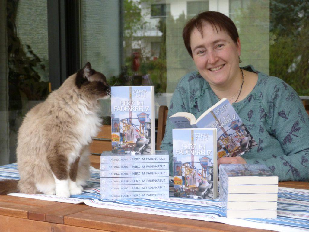 Die Bonner Autorin Tatjana Flade. Foto: T. Flade.