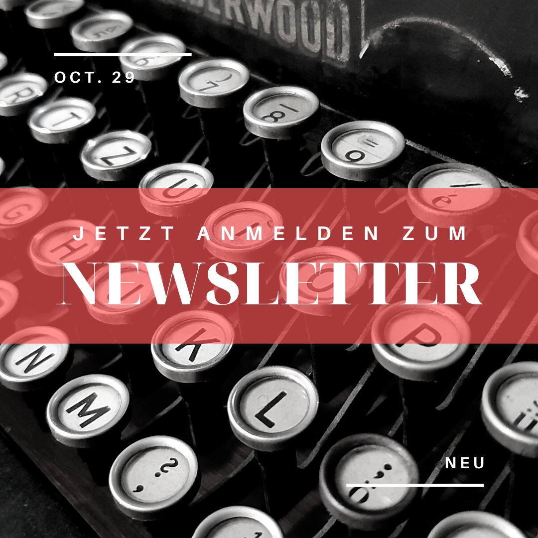 Neu: Es gibt ab sofort einen Newsletter