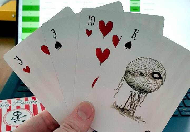Lasst uns spielen oder wenn Spielkarten meinen TBR erstellen