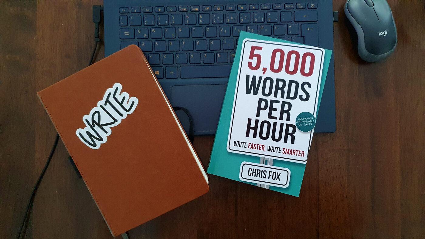 Chris Fox, 5000 Words per Hour