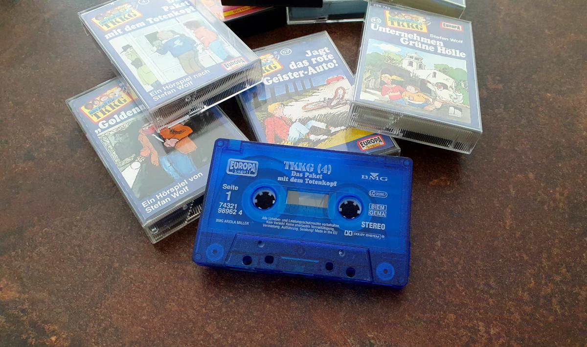 Kassetten aus den 90ern
